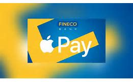 E' attivo su Apple Pay supporto Fineco Bank