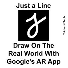 E' possibile disegnare con la realtà aumentata con Just a Line – Draw in AR